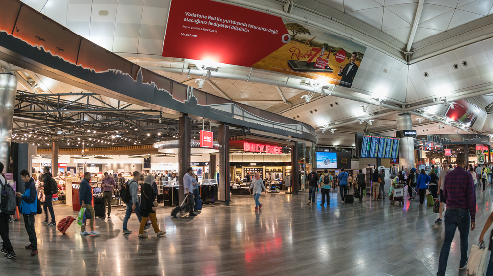 The new electronic device ban on international flights headed to the U.S. and other destinations are in place at 10 airports globally.