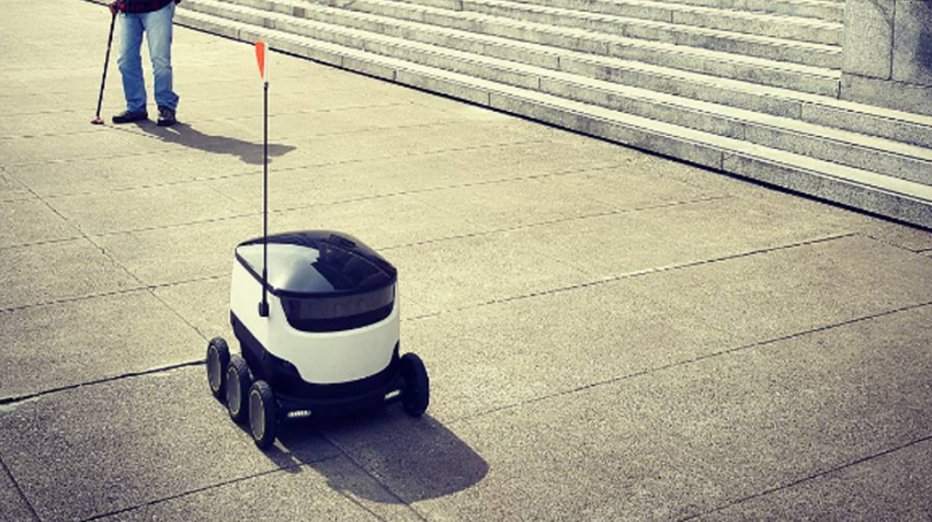 Robot Deliveries Were Approved in Virginia