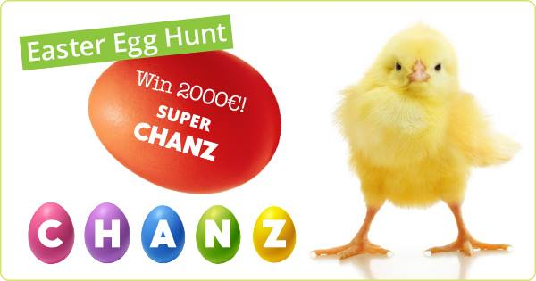 20 Fun Examples of Non-Traditional Easter Promotions - Chanz Casino Easter Egg Hunt