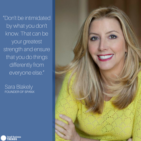 Sara Blakely, founder of SPANX, on Learning from Mistakes