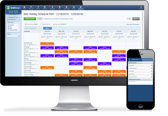 20 Employee Scheduling Software Solutions for Small Businesses - ShiftNote