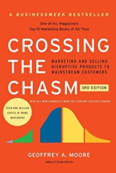 10 Books About Business Disruption - Crossing the Chasm
