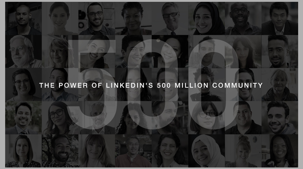 LinkedIn Reaches the 500 Million User Mark