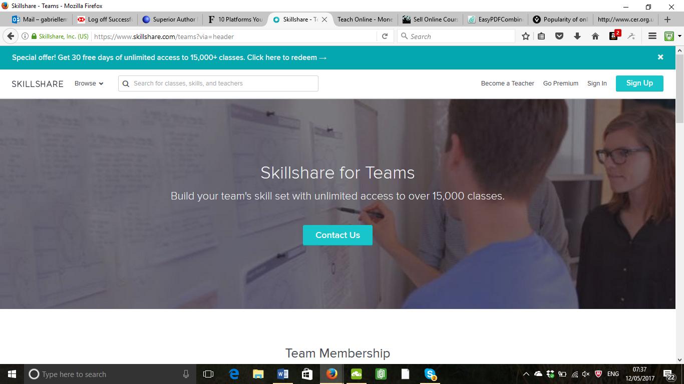 The Best Online Course Platforms - Skillshare
