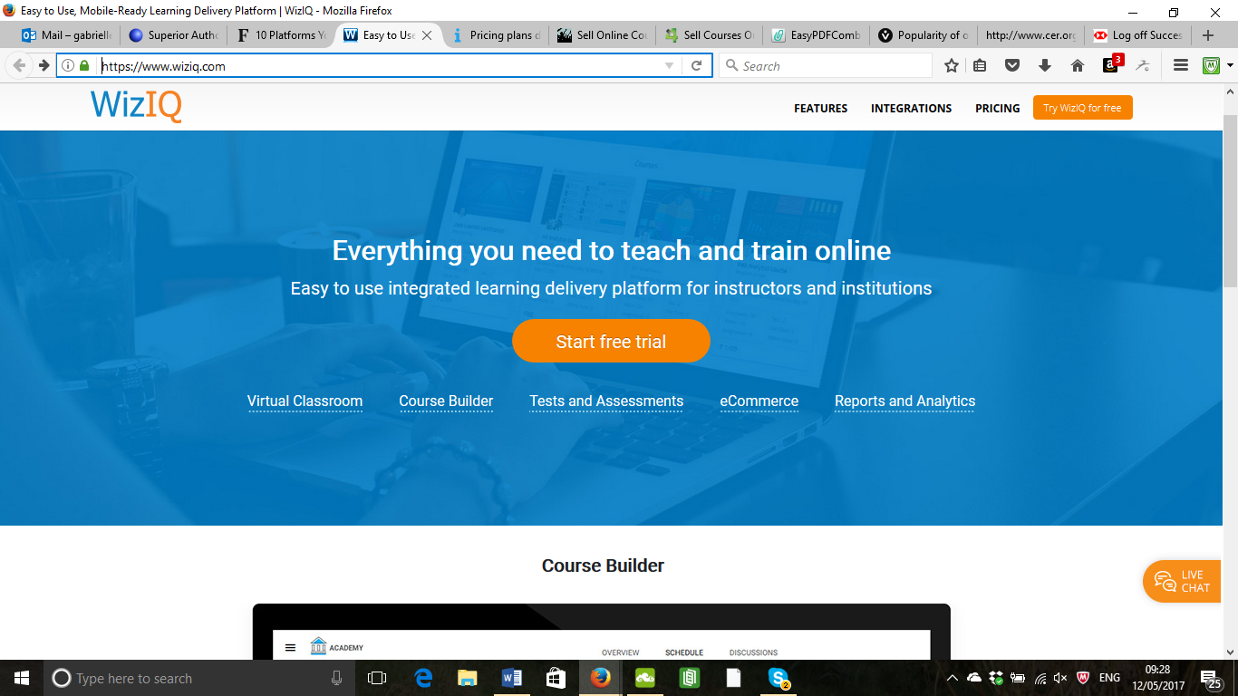 The Best Online Course Platforms - WizIQ