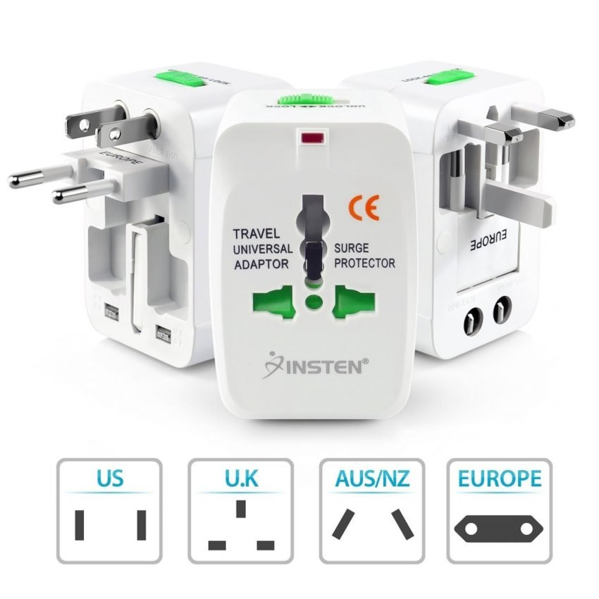 Must Have Travel Accessories - Insten Universal Travel Charger