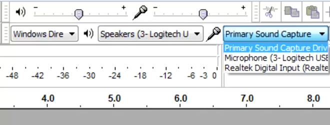 How To Use Audacity To Record and Edit Audio: Input Source