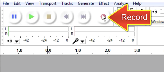 How To Use Audacity To Record and Edit Audio: Audio Recording