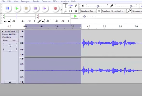 How To Use Audacity To Record and Edit Audio: Editing Audio