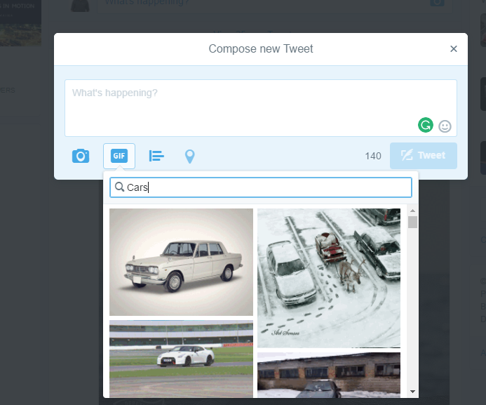 How to Use GIFs on Twitter: Searching for a Specific GIF