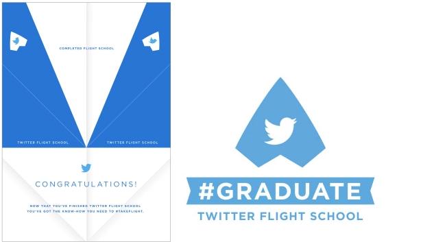 Twitter Flight School - Certificate