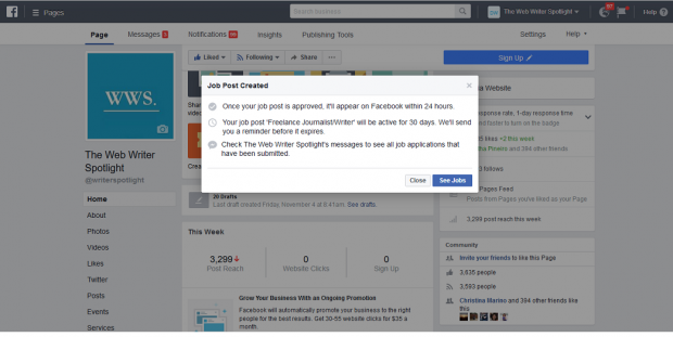How to Post a Job on Facebook: A Quick Step-by-Step Guide - Small