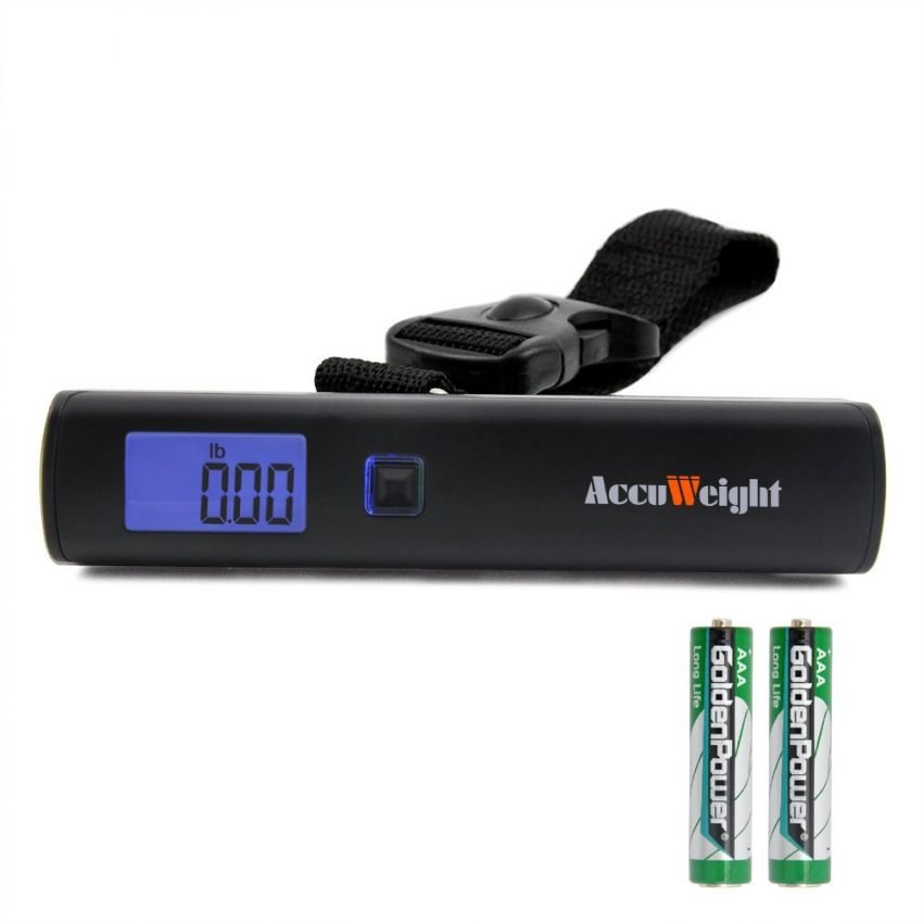 25 Travel Accessories for Men - Accuweight Luggage Scale