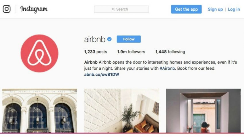 50 Most Creative Instagram Bio Examples for Business Users - Airbnb