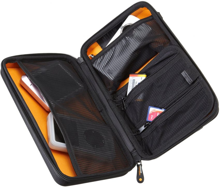 Must Have Travel Accessories - AmazonBasics Travel Electronics Case