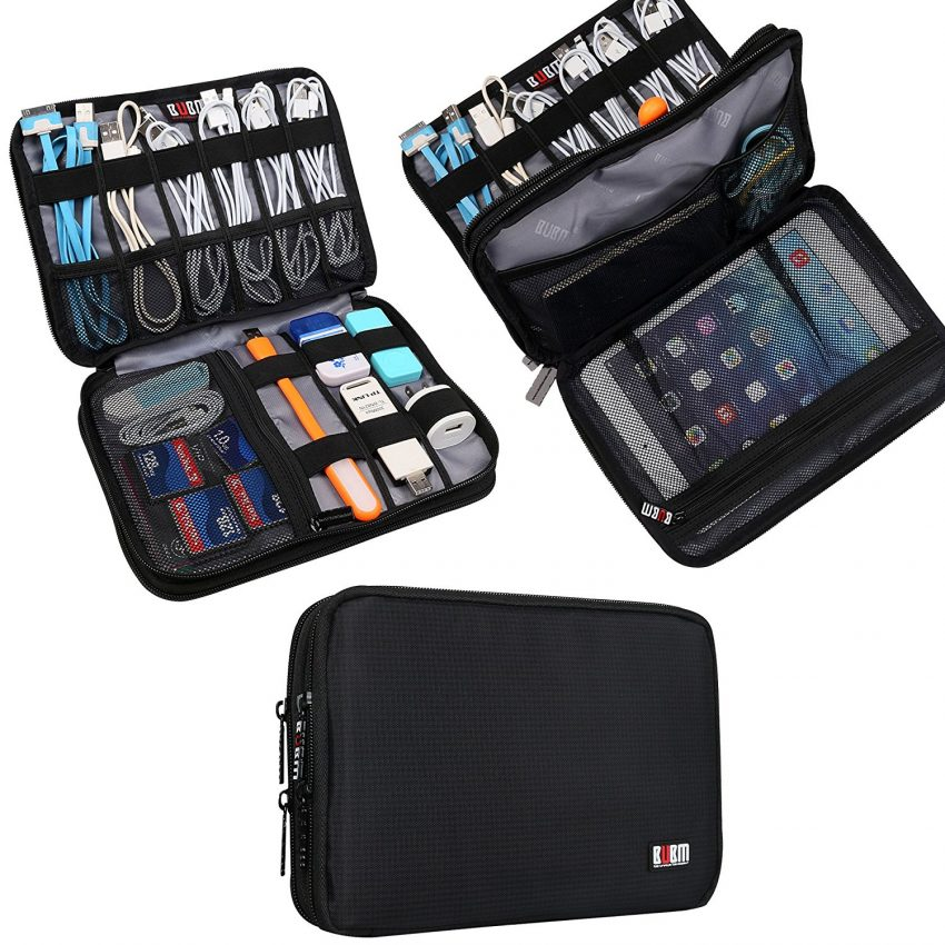 Must Have Travel Accessories - BUBM Electronics Bag