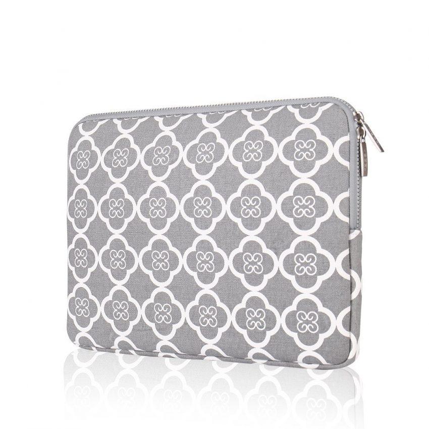25 accessoires de voyage pour femmes - Housse pour ordinateur portable Flower