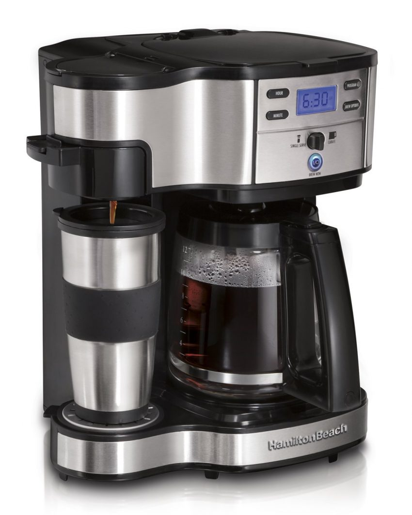 Office Coffee Machines for Your Small Business - Hamilton Beach 2-Way Coffee Maker