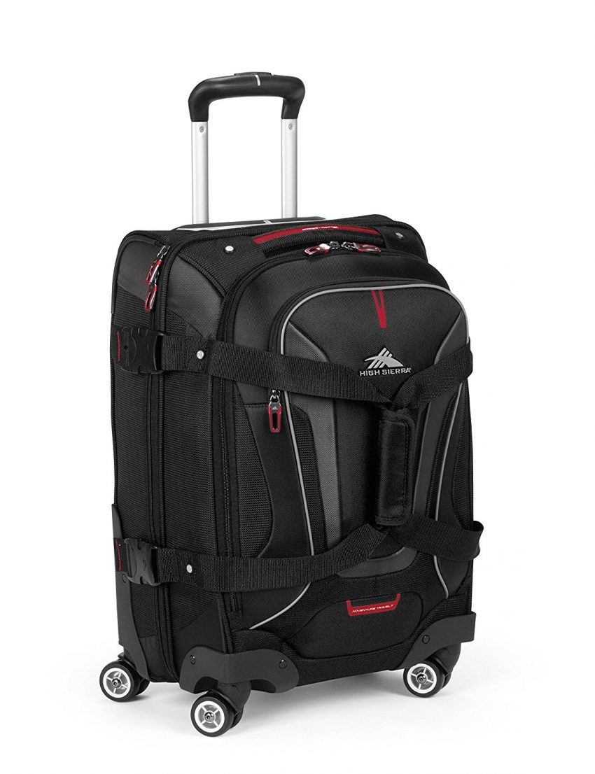 Must Have Travel Accessories - High Sierra Rolling Carry-On