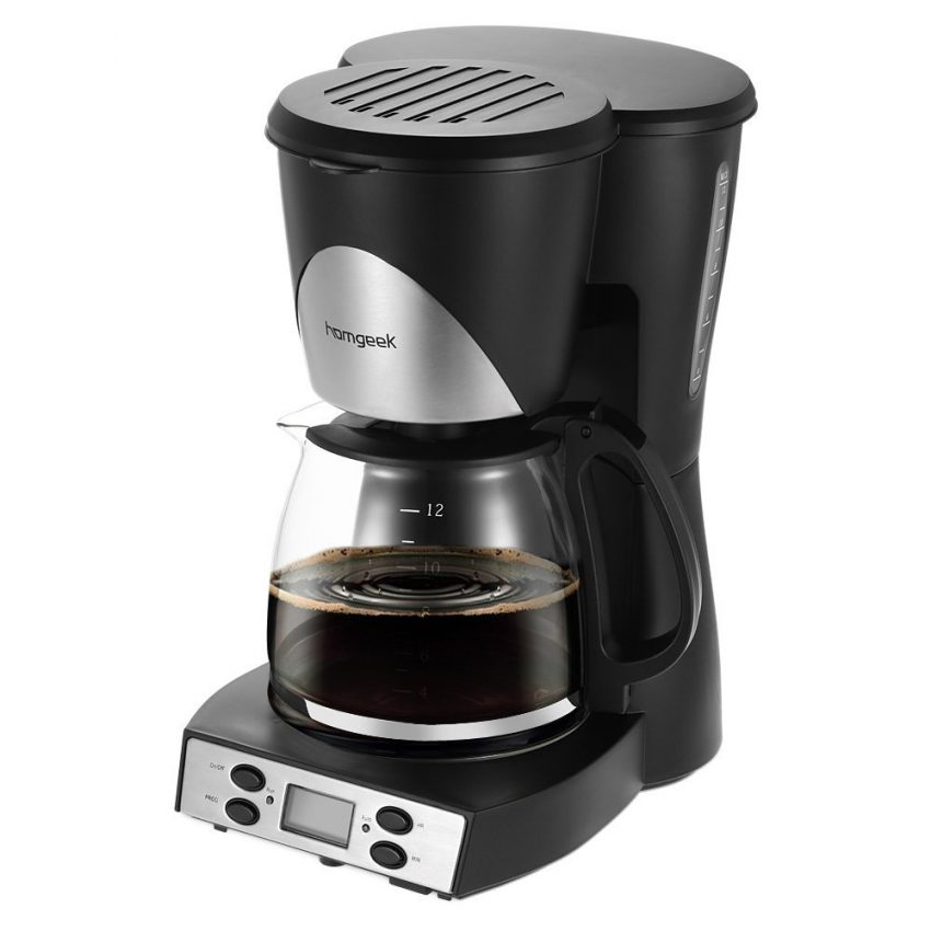 Office Coffee Machines for Your Small Business - Homgeek Programmable Coffee Machine