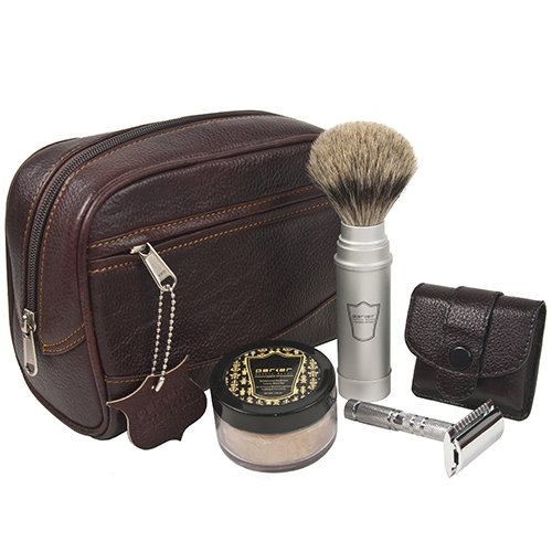 25 Travel Accessories for Men - Parker Travel Shave Kit