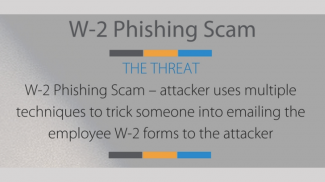 W-2 Phishing Scam Threatening Small Business After Tax Day