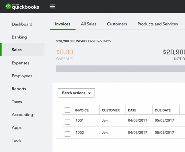 QuickBooks Online Navigation Changes - Everything related to sales has been streamlined in one place in the navigation