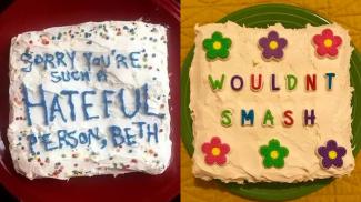 Internet Troll Cakes