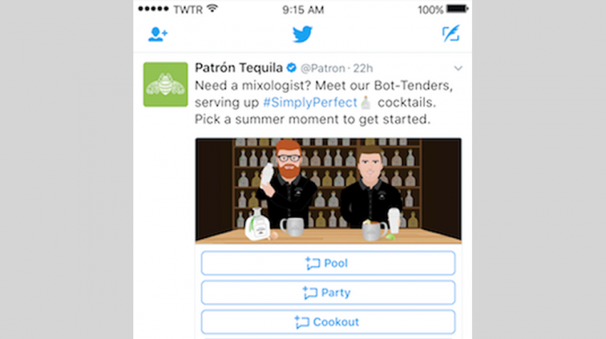 Twitter Direct Message Cards Let Customers Chat with Your Business via Bots
