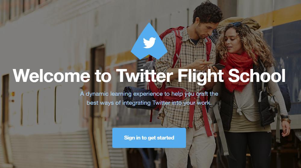 Have You Been to Twitter Flight School?