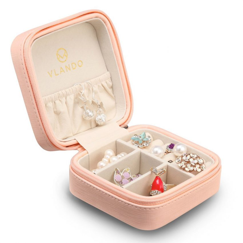 25 accessoires de voyage pour femmes - Porte-boîte à bijoux Vlando