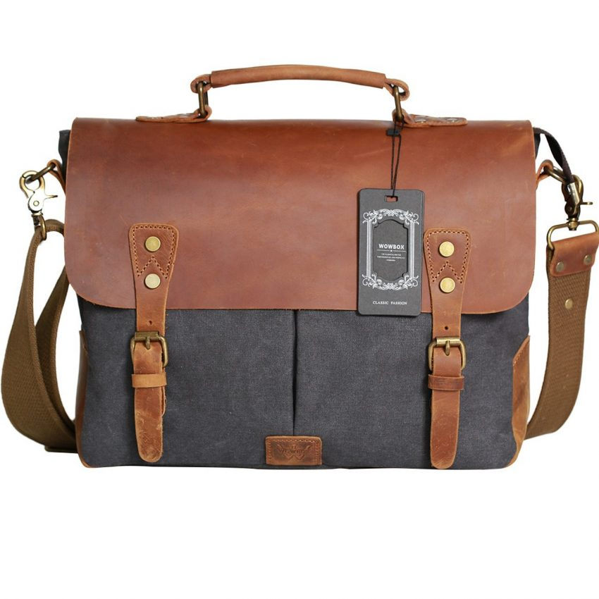 Must Have Travel Accessories - Wowbox Messenger Satchel Bag