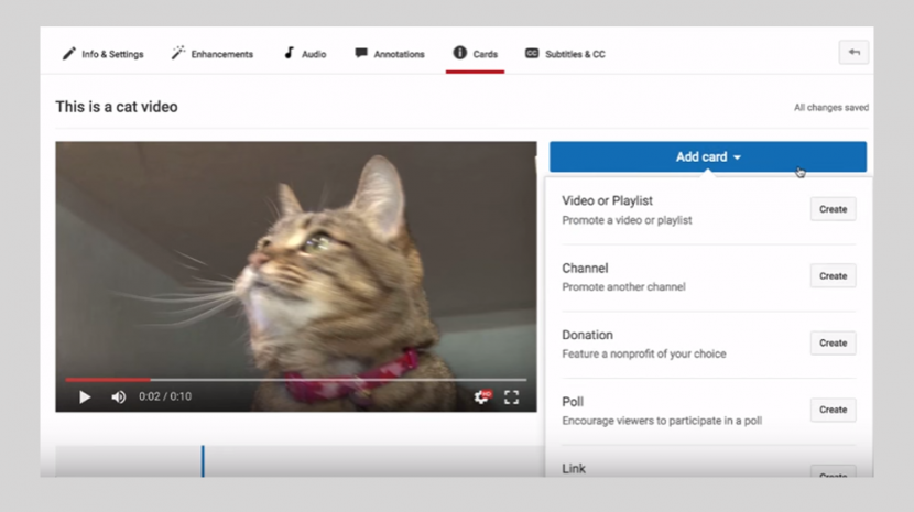 How To Use YouTube Cards on Your Business Videos