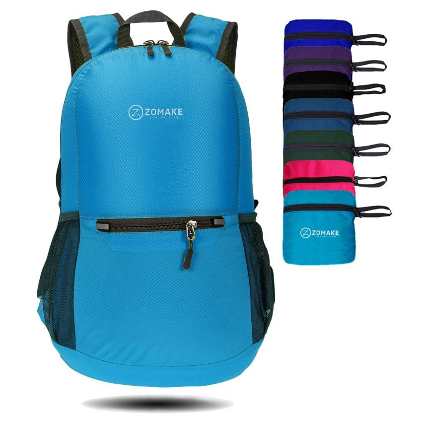 Must Have Travel Accessories - Zomake Lightweight Backpack