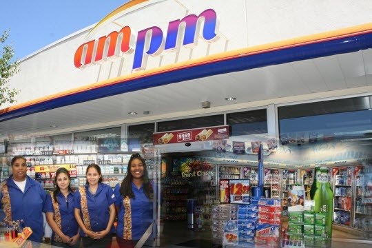 16 Gas Station Franchise Businesses - AMPM