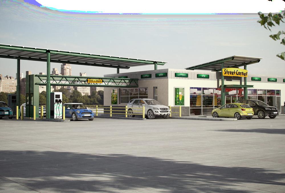 16 Gas Station Franchise Businesses - Street Corner