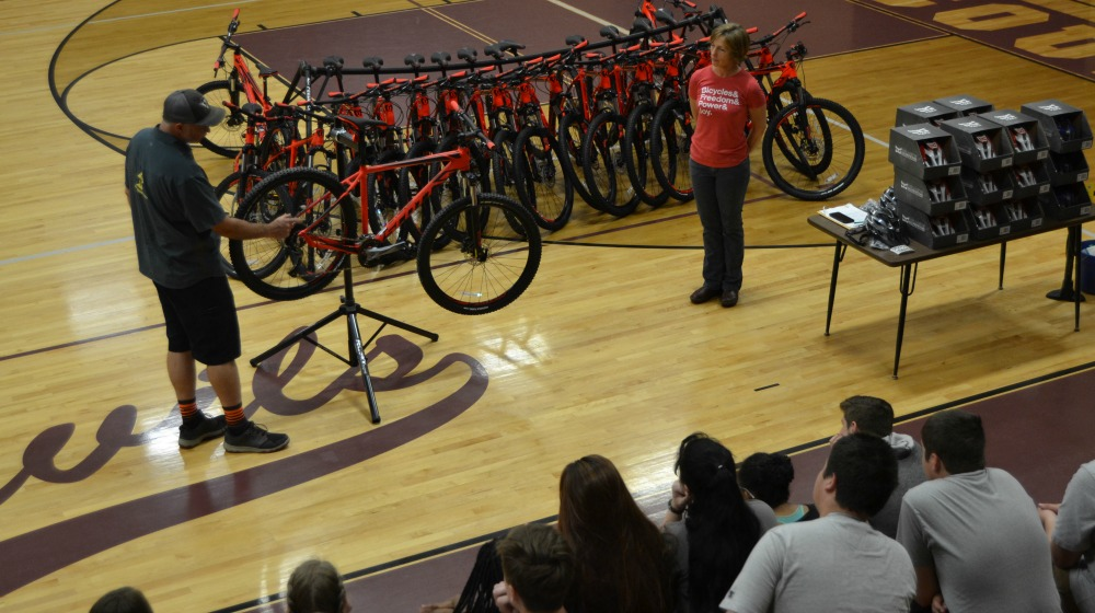 The company in this week's Small Biz Spotlight faced an uphill climb at first, but became a bicycle shop success story by creating a friendly atmosphere.