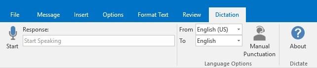 Installing Microsoft Dictate