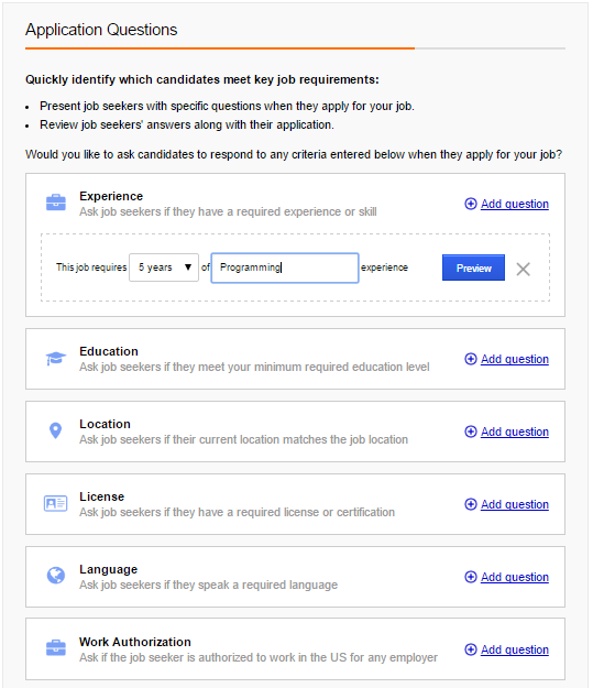 How to Post a Job on Indeed - Job Details 5