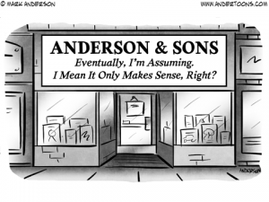 Family Business Business Cartoon