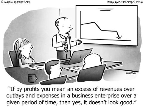 Failure Is Relative Business Cartoon
