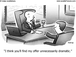 Grammar Business Cartoon