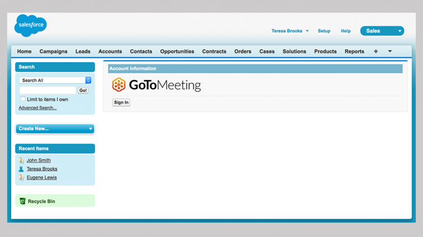 New GoToMeeting for Salesforce Feature Lets Users Meet Clients Face to Face