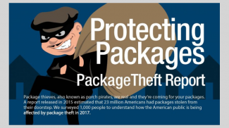 5 Ways to Prevent Package Theft (INFOGRAPHIC)