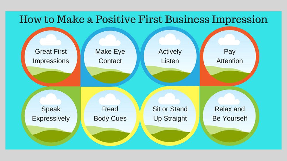 How to Make a Good First Impression in Business
