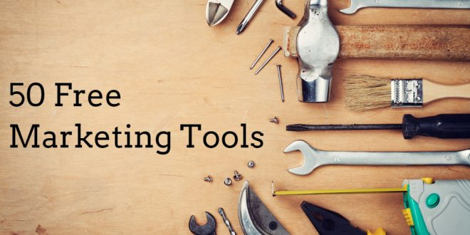 50 Free Marketing Tools Any Small Business Can Use - Small Business Trends