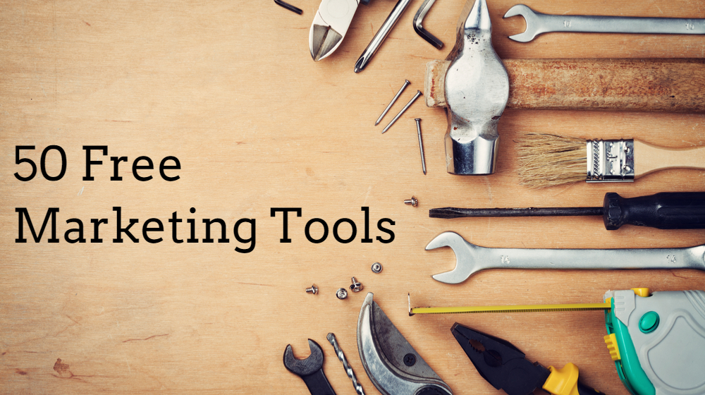 Free Marketing Tools for small business or businesses