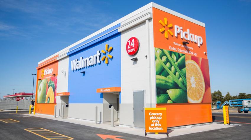 Walmart Self-Service Vending Machine for Groceries