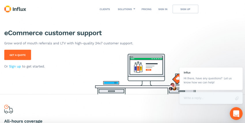 5 Ecommerce Customer Service Ideas - Provide Live Chat