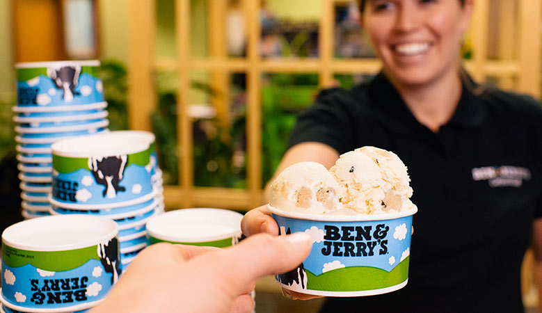 Ice Cream Franchise List - Ben & Jerry's